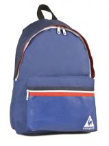 Backpack 1 Compartment Le coq sportif Blue frenchie COV12006