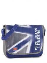 Sac Bandouliere Porte Travers A4 Pepe jeans Bleu camu 61316