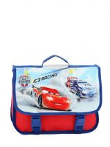Cartable 1 Compartiment Cars Blanc ic3 rally 20516RAC