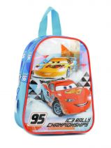 Sac A Dos 1 Compartiment Cars Blanc ic3 rally 60560ICE