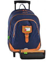 Backpack Tann's Blue kid classic 14TSDL