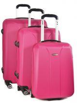 Luggage Set Building Travel Pink building IG1302