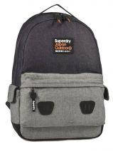 Sac A Dos 1 Compartiment Superdry Bleu backpack U91LC009