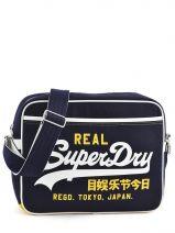 Crossbody Bag Superdry Blue alumini U91LC005