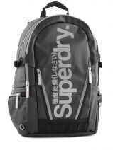 Sac A Dos 2 Compartiments Superdry Noir backpack M91LD011