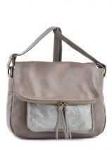 Shoulder Bag Night Leather Milano Beige night 1007N