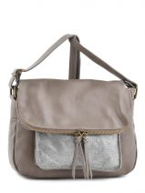 Sac Bandoulière Night Cuir Milano Beige night 1007N