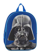Sac A Dos Mini 1 Compartiment Star wars Bleu 3d 570-7127