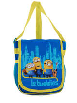 Sac Bandouliere Porte Travers Minions Bleu happy 16405