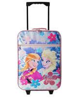 Kid's Luggage Frozen Pink elsa et anna 48166
