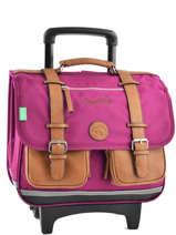 Satchel On Wheels Cameleon Pink vintage VINCA38R