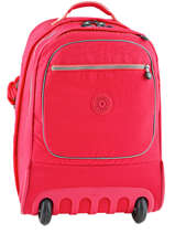 Wheeled Backpack 2 Compartments + 15'' Pc Kipling Pink 15359