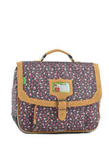 Cartable 1 Compartiment Tann's Gris liberty 5LICA35