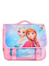Cartable 2 Compartiments Frozen Multicolore anna et elsa 13433