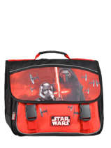 Satchel 3 Compartments Star wars Black the force awakens STD13027