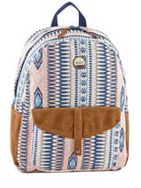 Backpack 1 Compartment Roxy Multicolor back to school JBP03269