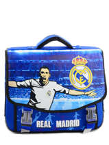 Cartable 2 Compartiments Real madrid Blue rmcf 163R203S