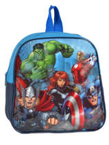 Backpack Mini Avengers Blue basic AST0964