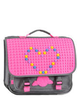Satchel 2 Compartments Eggman Pink silicone CAR1-SIL