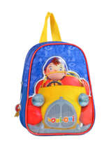 Backpack Oui oui Multicolor car 61960CAR