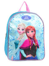Backpack Reine des neiges Blue pyping 90447FAN