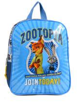 Sac A Dos Zootopia Bleu join today 95947ZOT