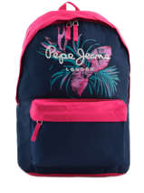 Sac A Dos 1 Compartiment Pepe jeans Bleu honey 63723