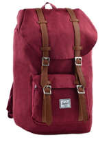 Sac A Dos 1 Compartiment Pc15'' Herschel Rouge classics 10014