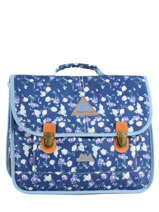 Satchel 2 Compartments Poids plume Blue pp oll over color PCO1538