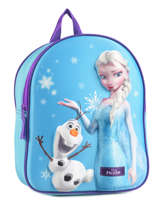 Backpack Frozen Blue 3d 182-6794