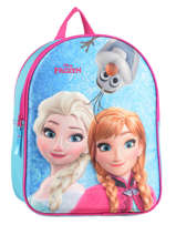 Backpack Frozen Blue 3d 182-7308