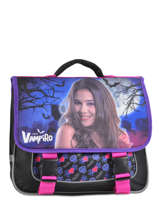 Cartable 2 Compartiments Chica vampiro Noir black purple 720625