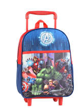 Sac A Dos A Roulettes Avengers Blanc city 2024026
