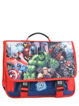 Cartable 3 Compartiments Avengers Blanc city 2024261