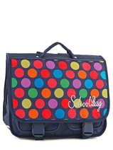 Satchel 2 Compartments Miniprix Multicolor dot 16302