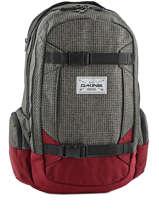 Sac A Dos 1 Compartmient Pc15'' Dakine Rouge snowpacks 1000-761