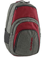 Sac A Dos 1 Compartiment Pc15 Dakine Rouge street packs 8130-057