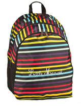 Sac A Dos 3 Compartiments Little marcel Multicolore scolaire RING