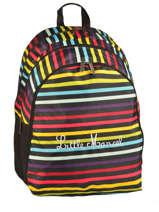 Sac A Dos 3 Compartiments Little marcel Multicolore scolaire RING