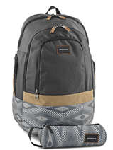 Backpack 15'' Laptop With Free Pencil Case Quiksilver Gray back to school YBP03270