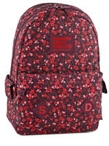 Sac A Dos 1 Compartiment Superdry Red top G91002JN