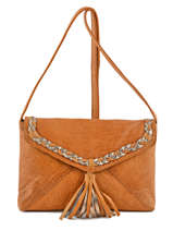 Crossbody Bag Pofo Leather Pieces Brown pofo 17076421