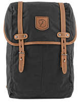 Sac A Dos 1 Compartiment Pc 15 Fjall raven Black rucksack 24205