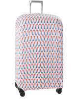Housse Valise Delsey Bleu covers up 3940181