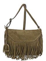 Sac Bandouliere Porte Travers Apache Etrier Vert apache APA003
