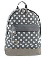 Backpack 1 Compartment Mi pac Gray bagpack 740199