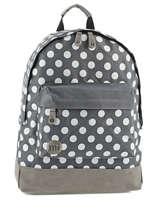 Sac A Dos 1 Compartiment Mi pac Gris bagpack 740199