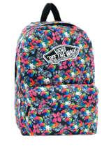 Sac A Dos 1 Compartiment Vans Multicolore backpack women V00NZ0