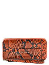 Portefeuille Guess Orange nikki PC504246