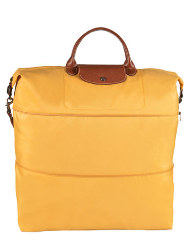 Longchamp Le pliage Travel bag Yellow
